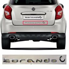 [Korando c] Rear Logo Emblem for Ssangyong 13-15 Korando C New Actyon Oem Parts5