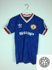 Retro MANCHESTER UNITED 86/88 Third Football Shirt (Y) Soccer Jersey Adidas
