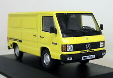 Altaya 1/43 Scale Mercedes Benz 100 D 1988 Van Yellow Diecast model Car