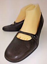 Beautifeel 9041 Wos Shoes EU 41 US 10 Brown Leather Latex Mary Jane Heels 1800