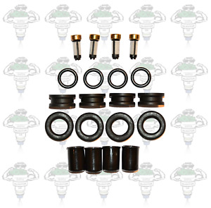 Denso 23250-02030 Bosch 0280150439 Fuel Injector Seals and Filters Kit - Kit 139