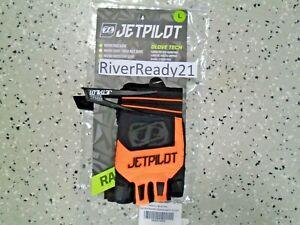 JET-PILOT Matrix Race Glove-s PWC Jet-ski Sea-Doo Blk/org Short finger Large/xl