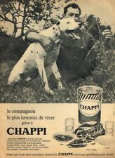 Other Breweriana Publicite Advertising 024 1965 Chappi Aliments Pour Chien Breweriana, Beer