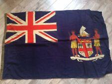 RARE !!! Fiji Flag USSR  Navy Naval Fleet Original Wool Soviet >1970