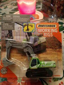 Matchbox 2020 WORKING RIGS MBX EXCAVATOR 8/8 GPJ01