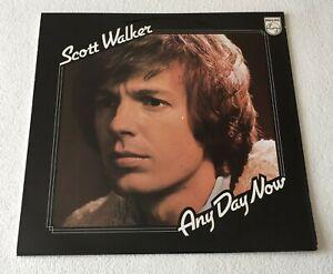 SCOTT WALKER ~ ANY DAY NOW ~ 1973 UK 11-TRACK VINYL LP RECORD ~ PHILIPS 6308 148