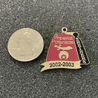 2002-03 Shriners Imperial Potentate Fez Hat Metal FOB Pendant #39176