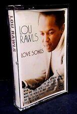Lou Rawls Love Songs Album Cassette Tape 1984 Romantic Music BRAND NEW SEALED!