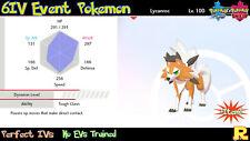 6IV EVENT DUSK LYCANROC ?? ?? for Pokemon SWORD & SHIELD ??