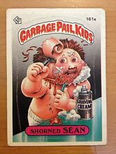 Garbage Pail Kids GPK Original Series 4 #161a Shorned Sean Non-MINT