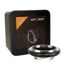 K&F Concept FD - Leica M Leica Adapter FD-L/M Canon FD FL to Leica M (KF06.177)