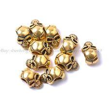 10pcs wholesa tibetan silver skull Spacer Beads For Jewellry 12MM SH809
