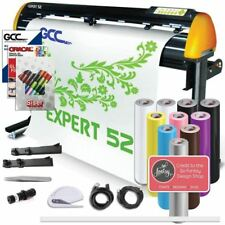GCC Professional Expert II 52 Inch Wide Vinyl Cutter Creative Bundle With Stand