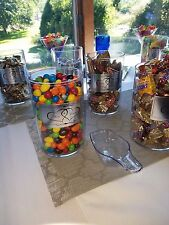 Set of 6 Sundry Jars, No Silver Labels, JUST THE MISSPELLED JARS, MANY USES!