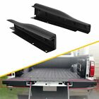 2pc For Ford F250 F350 Right Left Side Flex Step Tailgate Molding Trim Cap Black
