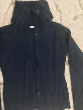 La Redoute Wool Button Cardigan Sweater Jacket Top Blouse Size 2 XS