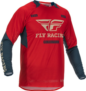 Fly Racing Evolution DST Jersey 2XL Red/Grey