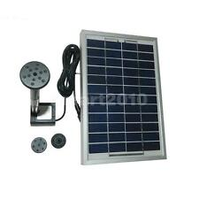 5W 12V Solar Powered Panel Water Pump Fountain Kit for Pool Garden Pond