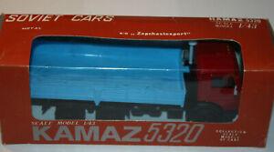 KAMAZ-5320  - USSR 1991 Elecon 1/43 TRUCK w/ original box