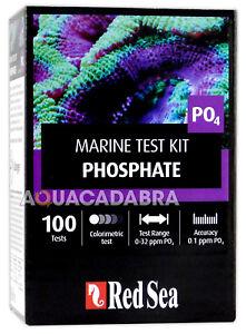 Red Sea Phosphate Marine Test Kit PO4 - 100 Tests for Reef Aquarium Fish Tank