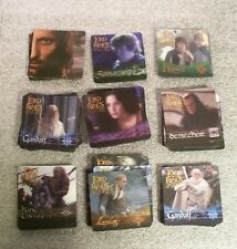 The Lord of the Rings RETURN OF THE KING Action Flipz Trading Card Set