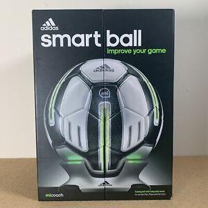adidas Mi Coach Smart Ball Size 5 Bluetooth Football - App Required Please Read