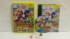 Jeu Vidéo Mario et Sonic aux Jeux Olympiques de Londres 2012 WII Nintendo SEGA
