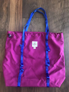Epperson Mountaineering Fuchsia CLIMB Lightweight Gym Drawstring Shopper Bag