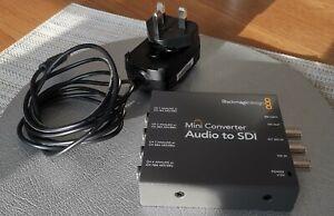 Blackmagic Audio To SDI Mini Converter