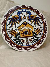 Vintage double bird Wilkum Hex sign by Ivan Hoyt 1996