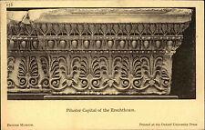 Vecchio AK British POSTCARD osford Pilaster erechtheum cartolina circa 1920 ungelauf.