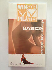 "WINSOR PILATES ""BASICS"" STEP - BY - STEP ~ RARE VHS VIDEO"
