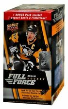 NHL 2015-16 UPPER DECK Full Force Hockey Trading Card BLASTER Box SEALED