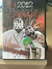 INSANE CLOWN POSSE 2012 NEW YEARS EVE PARTY JCW  WRESTLING REGION 1 NTSC DVD