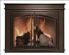Pleasant Hearth FN-5700 Fenwick Fireplace Glass Door, Oil Rubbed