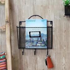 Envelope Style Key Letter Holder Wall Mount Wire Rack Hanger Organizer Storage