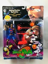Space Jam Michael Jordon Sylvester Action Figure 1996