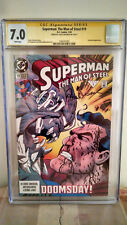 Superman: The Man of Steel #19 CGC 7.0 AUTOGRAPHED by LOUISE SIMONSON