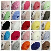 Sale 1ballx50g New Soft Cotton Lace Thread Yarn Crochet Lace Jewelry Knitting
