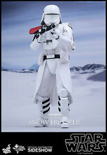"12"" Star Wars First Order Snowtrooper Officer Hot Toys 902552 In Stock"