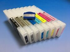350ML Refillable Ink Cartridge with Resettable Chip for EP Stylus Pro 7880 9880