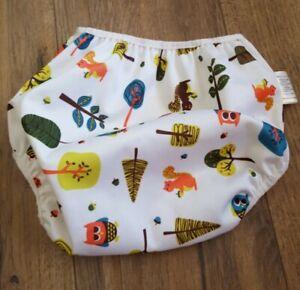 Nickis Diaper Waterproof Diaper Cover Woodland Print Size Medium