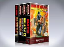 NEW custom game storage cases NINJA GAIDEN 4 PACK -No Game- 1, 2, 3, and trilogy