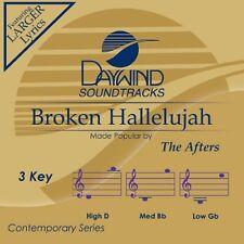 The Afters - Broken Hallelujah - Accompaniment CD New