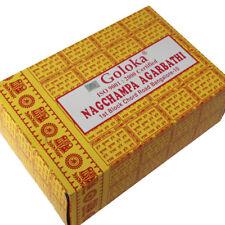 Incienso Nag Goloka amarillo original 16gr