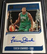 2019 Panini Donruss WNBA Signature Series Teresa Edwards Autograph Lynx
