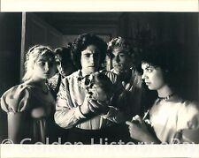 VINTAGE KEN RUSSELL FILM GOTHIC MYRIAM CYR GABRIEL BRYAN REAL PRESS PHOTO IMAGE