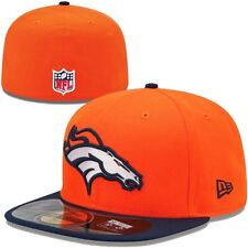 DENVER BRONCOS NFL Authentic On-Field NEW ERA 59FIFTY FITTED CAP Size 7 1/4