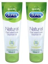 Pack of 2 Durex Natural Lubricant Gel 100 ml ingredients of 100% natural origin