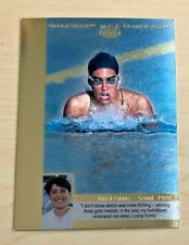 1996 UPPER DECK OLYMPIC CHAMPIONS REFLECTIONS JANET EVANS CARD #RG9 SWIMMING